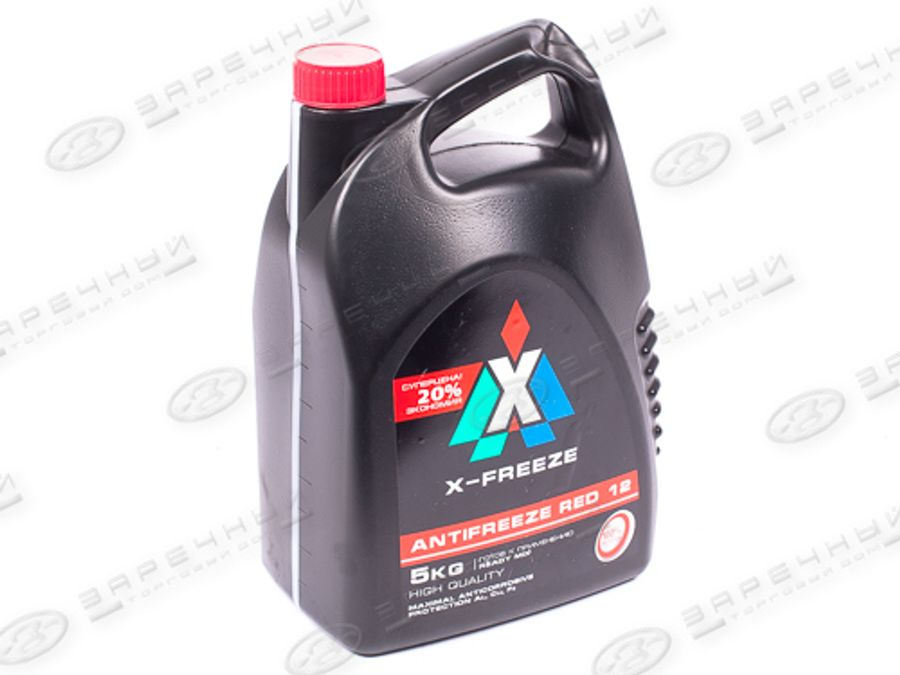 Антифриз Carbox X-Freeze (Тосол-Синтез) 5кг (красный) G12 (-40)