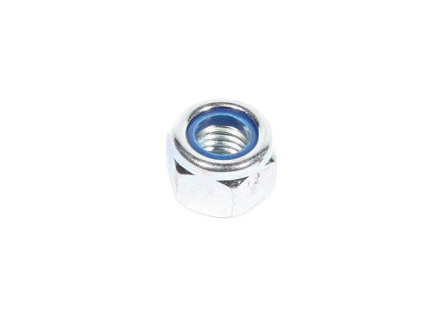 Гайка М14*2,0 с нейлоновым кольцом (DIN 985)