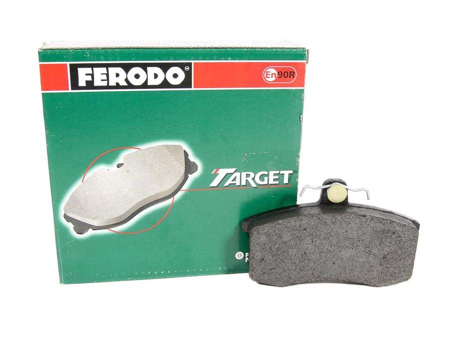 """Колодки тормозные передние 2108 (к-т 4шт) """"FERODO"""" (TAR 527)"""