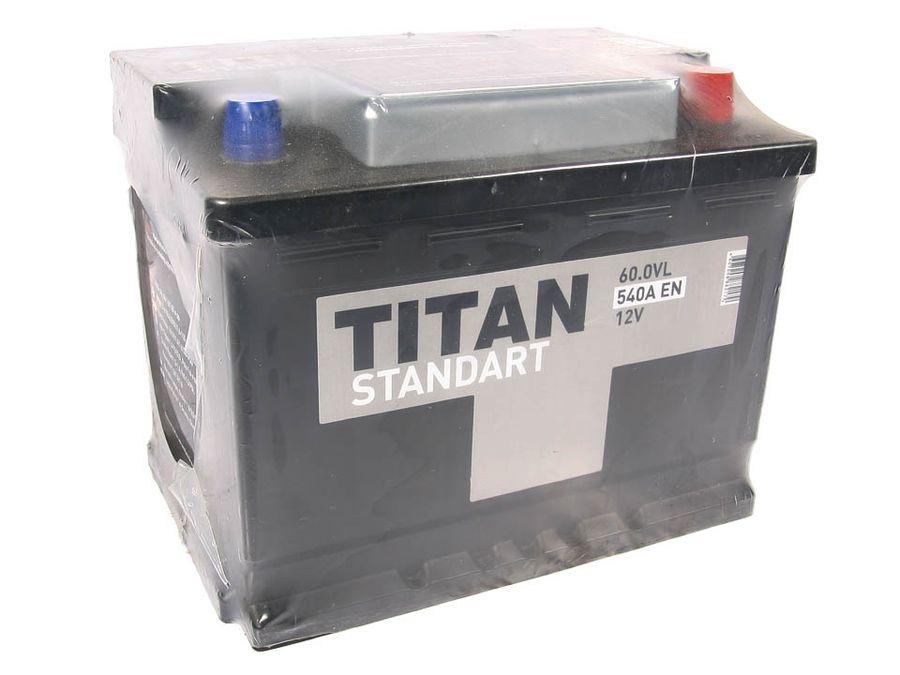 "АКБ 6СТ-60 ""Титан"" Standart (обр. пол.) (г.Бор) (242*175*190) (540А)"