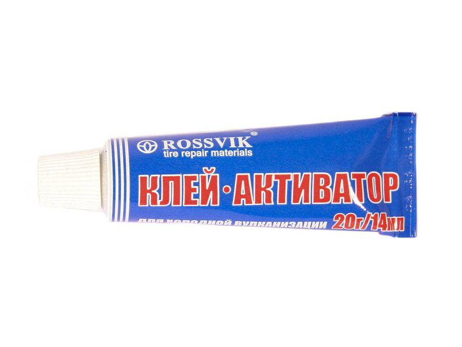 """Клей-активатор для ш/монтажа (14мл/20гр) тюбик """"Россвик"""""""