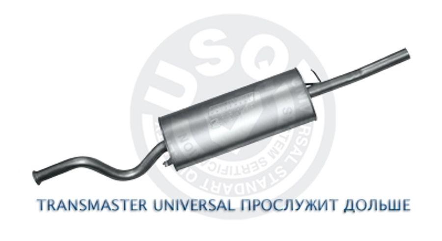 """Глушитель основной 2112 """"Transmaster Universal"""" (нерж.) (до 2007г.)"""