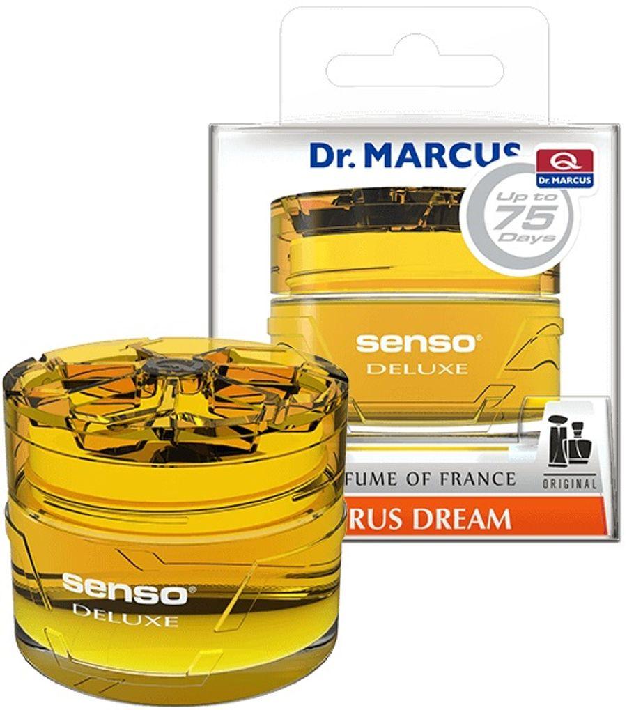 """Ароматизатор на панель приборов """"Dr.Marcus"""" SENSO Deluxe CITRUS DREAM"""