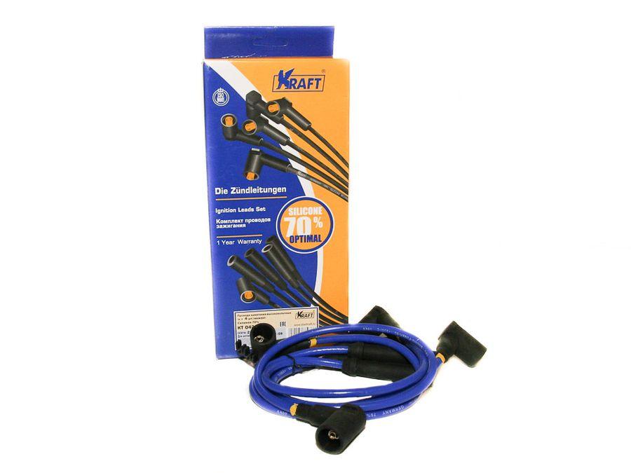 """Провода в/н 2108-15,2170,2190 инж. """"KRAFT"""" (8кл) силикон 70% (к-т)"""