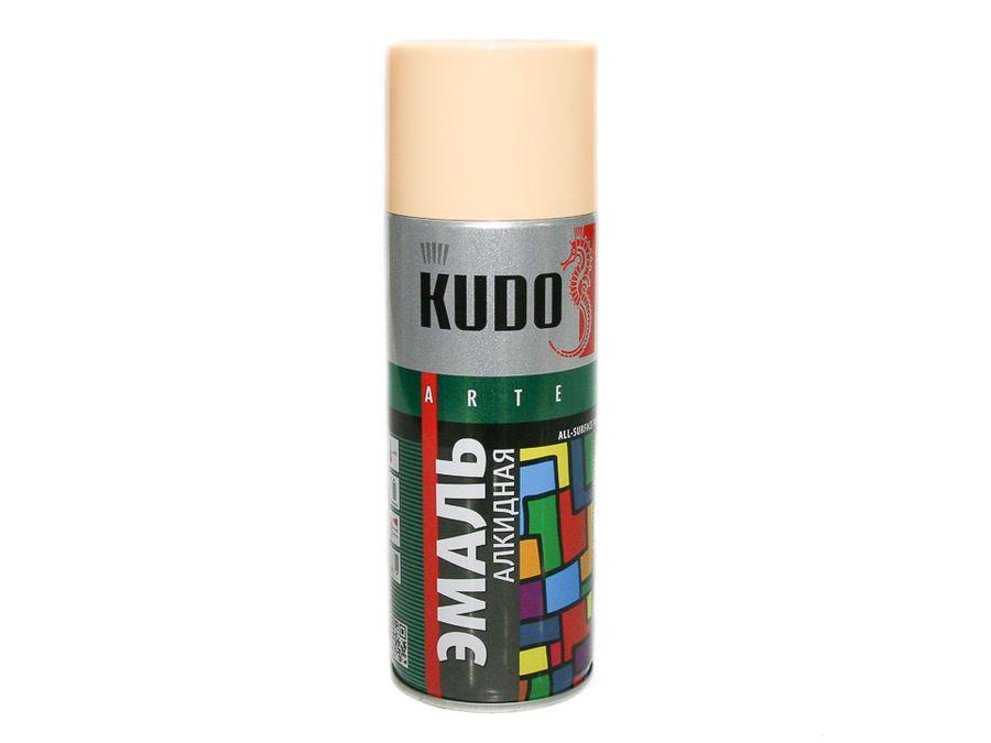 "Краска спрей ""KUDO"" бежевая (520мл)"