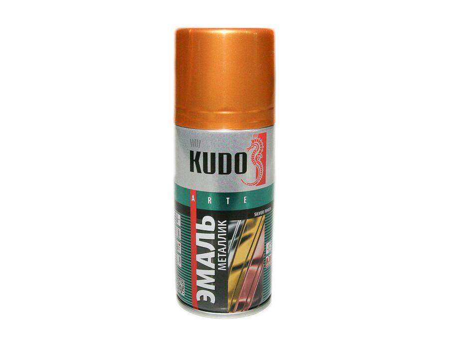 """Краска спрей """"KUDO"""" металлик золото (210 мл)"""